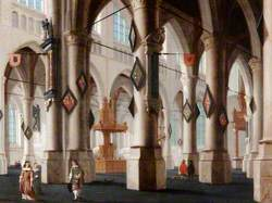 Interior of an Imaginary Gothic Church