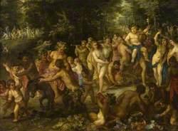 A Bacchic Procession