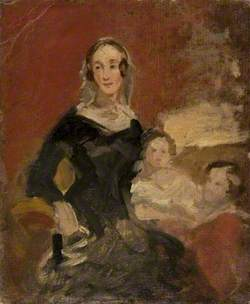 Sketch of a Lady with Two Children