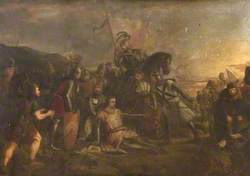 Battle of Otterburn, 5 August 1388: The Death of Douglas and Capture of Sir Ralph Percy by Sir John Maxwell