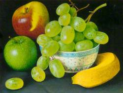Autochromes and Grapes