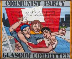 Glasgow Communist Party Committee Banner*