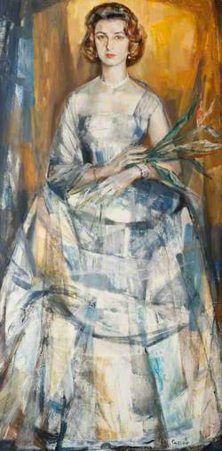 HRH Princess Alexandra (b.1936), GCVO, in Evening Dress