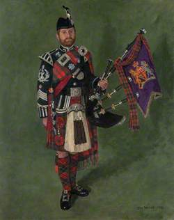 Pipe Major Gavin Stoddart
