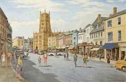 Cirencester Market Place, Gloucestershire