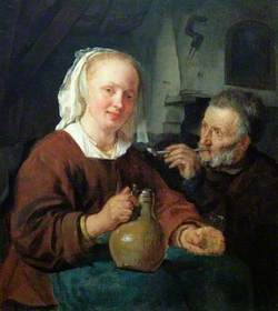 A Man and a Woman at Wine