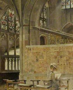 Malvern Abbey, Worcestershire