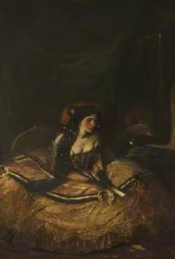 Lillah McCarthy (1875–1960), as 'Donna Anna'