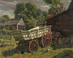 An Old Cotswold Wagon