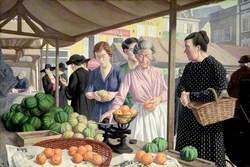 The Fruit Market, Beauvais, France