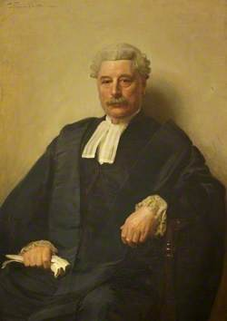 Sir Gabriel Prior Goldney (1843–1925), in Robes as High Sheriff of Wiltshire (1906–1907)