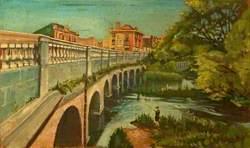 Town Bridge and River Avon, Chippenham, Wiltshire