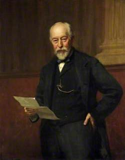 The Right Honourable Sir John Edward Dorington (1832–1911), Bt, Chairman of Gloucestershire County Council (1889–1908)