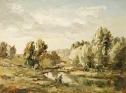 Stroud Canal, Gloucestershire, 1902