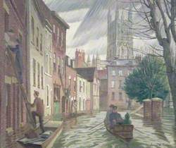 The Great Flood, Gloucester, 1947