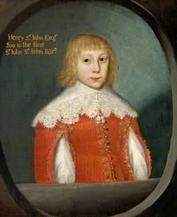 Henry St John (1638–1679), 9th Son of Sir John St John, 1st Bt