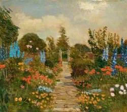 Kitchen Garden at Burderop Park, Wiltshire