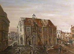 The Old Bishop's Guildhall, Salisbury, Wiltshire