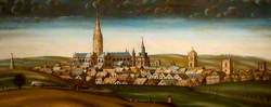 Salisbury, Wiltshire, from the North-East