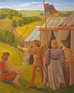 Medieval Hunting Scene