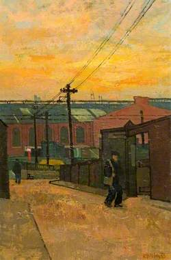 Engine Sheds, Kentish Town, London