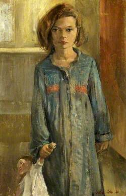 Mary (Young Girl with a Doll)