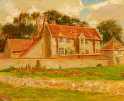 Upham House at Upper Upham, Wiltshire