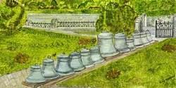 The New Peal of Twelve Bells before Being Installed in St James's Church, Trowbridge, Wiltshire