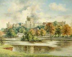 View of Windsor Castle, Berkshire