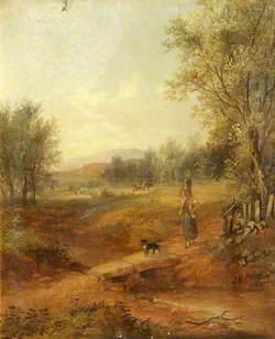 Medlock Vale in 1866, Oldham, Lancashire