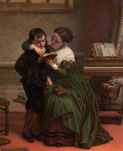 George Herbert and His Mother