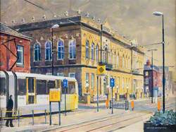 Tram on Union Street, Outside the Lyceum