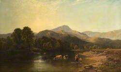 Morning on the Usk