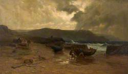 Squally Weather, Coast of Guernsey