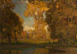 Autumn in the Valley of the Ouse, Sussex
