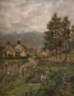 A Cottage Garden, Braemar, Aberdeenshire