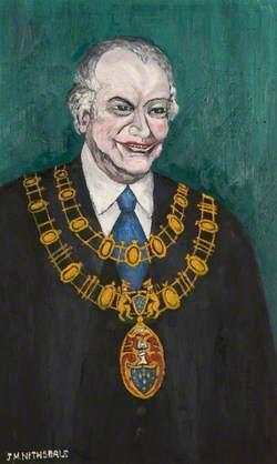 Councillor Headridge, Mayor of Stockport (1983)