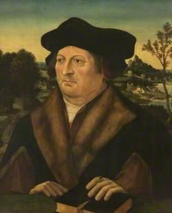 Portrait of a Gentleman in a Landscape