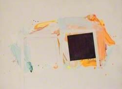 Acrylic/Paper January III 76