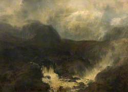 Mountain Stream, Glen Derry, Aberdeenshire, 'Like time the restless waters rush along'