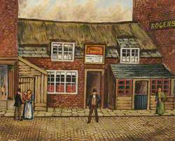 The 'Old Thatched House' Tavern, Rock Street, Bury