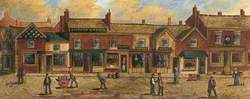 The Old Market Place, Bury, 1851