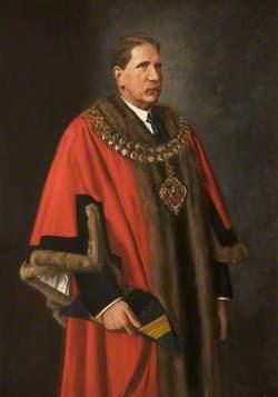 Alderman E. Aspinall (1858–1940), JP, Mayor of Bolton (1923–1924)