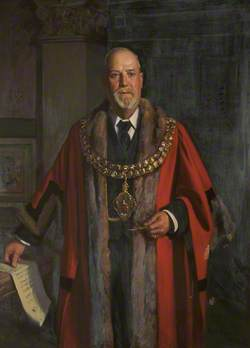 Alderman Sir Knowles Edge (1854–1931), JP, Mayor of Bolton (1916–1918)