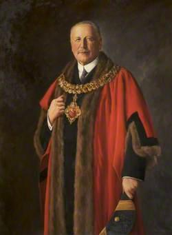 Alderman W. H. Brown (1850–1931), JP, Mayor of Bolton (1908–1909)