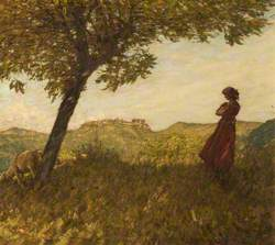 A Ligurian Shepherdess