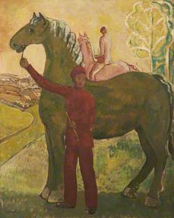 Horse and Figure