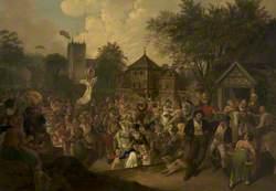Eccles Wakes Fair, 1822