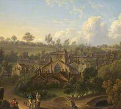The Priory Church and Village of Upholland