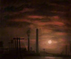 Sunrise over Wigan